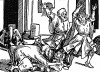 Сын султана в городе Сана. Иллюстрация Йорга Бреу Старшего к описанию путешествия на восток Лодовико ди Вартема: Ludovico Vartoman / Die Ritterliche Reise. Издал Johann Miller, Аугсбург, 1515