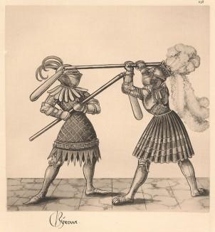 Из Freydal. Des Kaisers Maximilian I. Turniere und Mummereien (Репринт 1882 года. Вена. Лист 238)
