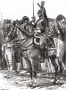 Кавалерист парижской гвардии в 1815 году (из Types et uniformes. L'armée françáise par Éduard Detaille. Париж. 1889 год)