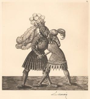 Из Freydal. Des Kaisers Maximilian I. Turniere und Mummereien (Репринт 1882 года. Вена. Лист 87)