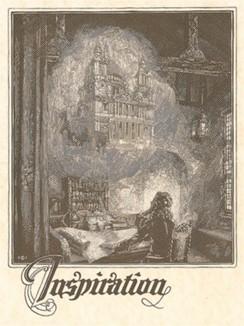 Сэр Кристофер Рен (1632--1723) проектирует собор Святого Павла в Лондоне.