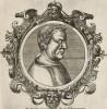 Платон (428/427--348/347 гг. до н.э.) (лист 12 иллюстраций к известной работе Medicorum philosophorumque icones ex bibliotheca Johannis Sambuci, изданной в Антверпене в 1603 году)