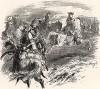 «История Семилетней войны», гл.VI. В 1757 г. Фридрих II, ведущий войну сразу по нескольким направлениям - на юге, западе, севере и северо-западе - вынужден быстро перемещать войска и лично их сопровождать.