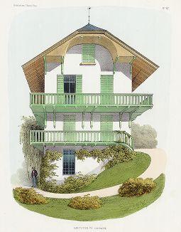 Загородный дом. Habitations Champêtres..., Париж, 1855 год