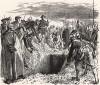 «История моего времени», гл.XIV. Погребение прусских солдат, погибших в сражении при Кессельсдорфе 15 декабря 1745 г. Победители-пруссаки потеряли 5000 убитыми, австро-саксонцы - в два раза больше солдат и 40 орудий.