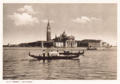 Остров Святого Георгия. Ricordo Di Venezia, 1913 год.