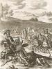 """Амазонка Камилла. """"Энеида"""" Вергилия, книга XI. Лист подписного издания посвящён барону Вильяму Беркли"""