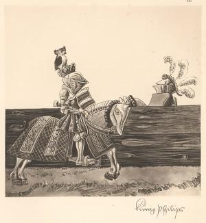 Из Freydal. Des Kaisers Maximilian I. Turniere und Mummereien (Репринт 1882 года. Вена. Лист 237)