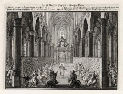 Иисус тот, о ком было предсказано пророками (из Biblisches Engel- und Kunstwerk -- шедевра германского барокко. Гравировал неподражаемый Иоганн Ульрих Краусс в Аугсбурге в 1694 году)