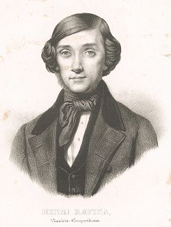 Жан-Анри Равина (1818-1906) - французский пианист-виртуоз, композитор и педагог.