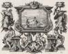 Самуил убивает Агага, царя амаликийского (из Biblisches Engel- und Kunstwerk -- шедевра германского барокко. Гравировал неподражаемый Иоганн Ульрих Краусс в Аугсбурге в 1700 году)