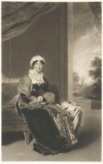 Леди Элеанор Виграм с оригинала сэра Томаса Лоуренса.