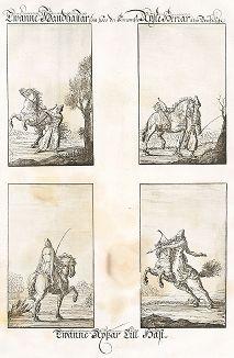 """Русские конники. """"Заметки о России, составленные Эриком Пальмквистом в 1674 году"""". Репринт 1898 года."""