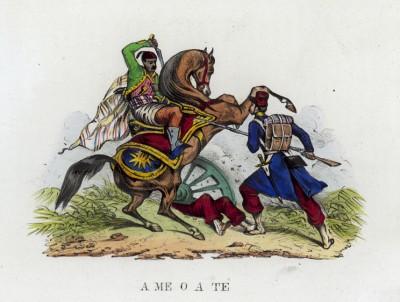 Ты или я! (иллюстрация к L'Africa francese... - хронике французских колониальных захватов в Северной Африке, изданной во Флоренции в 1846 году)
