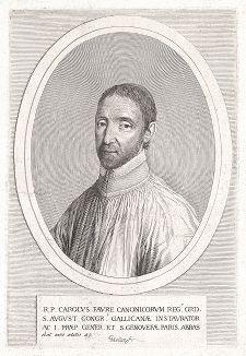 Шарль Форе (1594--1644) -  настоятель аббатства Сент-Винсент де Сенлис, церковный реформатор, основатель и первый глава конгрегации Святой Женевьевы.