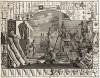 Анализ красоты, гравюра I, 1753. Иллюстрация к четырехтомному трактату Хогарта «Анализ красоты». На гравюре самые известные скульптурные шедевры античности, аллюзия на платоновский диалог о прекрасном между Гиппием и Сократом. Геттинген, 1854