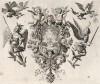 Огненный ангел охраняет древо жизни (из Biblisches Engel- und Kunstwerk -- шедевра германского барокко. Гравировал неподражаемый Иоганн Ульрих Краусс в Аугсбурге в 1694 году)