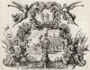 Ангел ведёт караван Товия (из Biblisches Engel- und Kunstwerk -- шедевра германского барокко. Гравировал неподражаемый Иоганн Ульрих Краусс в Аугсбурге в 1694 году)