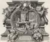 Акила и жена его Прискилла (из Biblisches Engel- und Kunstwerk -- шедевра германского барокко. Гравировал неподражаемый Иоганн Ульрих Краусс в Аугсбурге в 1700 году)