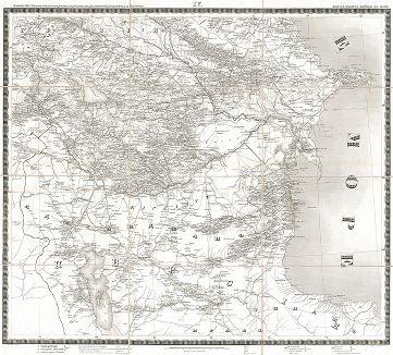 Карта театра войны в Азии 1826, 1827, 1828, 1829 и 1830 годов. Составлена и гравирована в Военно-топографическом депо в 1841 году. Часть IV.