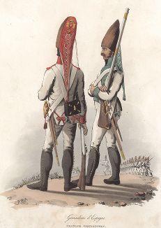 Униформа испанских гренадеров эпохи наполеоновских войн. Лондон, 1810-е гг.