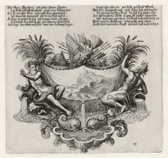 Пророчество Аввакума (из Biblisches Engel- und Kunstwerk -- шедевра германского барокко. Гравировал неподражаемый Иоганн Ульрих Краусс в Аугсбурге в 1700 году)