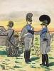 1812 г. Обоз армии королевства Бавария. Коллекция Роберта фон Арнольди. Германия, 1911-29