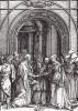Обручение Марии (из Жития Богородицы Альбрехта Дюрера)