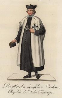 Одежда в тевтонском ордене