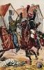 29 марта 1814 г. Французский кавалерист атакует русского казака в сражении под Реймсом. Коллекция Роберта фон Арнольди. Германия, 1911-29