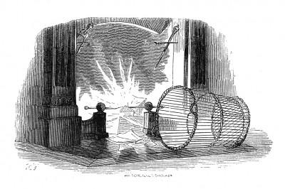 В январе 1814 года император Наполеон сжигает все секретные бумаги и письма. Histoire de l'empereur Napoléon, Париж, 1840
