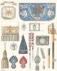 Знаки различия и оружие конных гренадеров французской королевской гвардии. Histoire de la Maison Militaire du Roi de 1814 à 1830. Экз. №93 из 100, изготовлен для H.Fontaine. Том II, л.68. Париж, 1890
