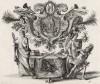 Давид указывает Саулу на край его одежды (из Biblisches Engel- und Kunstwerk -- шедевра германского барокко. Гравировал неподражаемый Иоганн Ульрих Краусс в Аугсбурге в 1700 году)