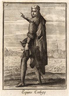 Рыцарь ордена Чулка (Венеция). Catalogo degli ordini equestri, e militari еsposto in imagini, e con breve racconto. Рим, 1741