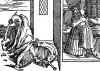 Возлюбленный султанши. Иллюстрация Йорга Бреу Старшего к описанию путешествия на восток Лодовико ди Вартема: Ludovico Vartoman / Die Ritterliche Reise. Издал Johann Miller, Аугсбург, 1515
