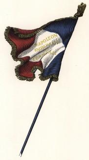 """Знамя Франции. Фронтиспис пьесы Саша Гитри """"Наполеон"""". Париж, 1955"""