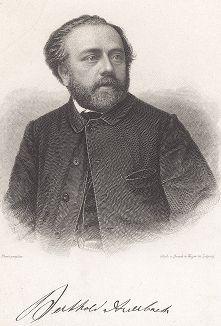Бертольд Ауэрбах (1812-1882) - немецкий писатель и поэт.