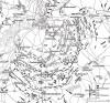 "План сражения под Лейпцигом (""Битвы народов"") 16-19 октября 1813 г. Die Deutschen Befreiungskriege 1806-1815. Берлин, 1901"