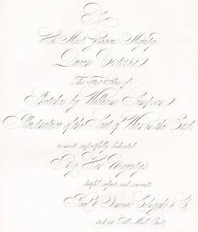 Посвящение автора королеве Виктории, предваряющее The Seat of War in the East by William Simpson... лучшую в истории серию литографий, посвящённых Крымской войне. Лондон. 1855 год