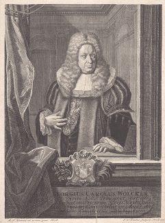 Георг Карл Вёльке (1660--1723) - немецкий политический деятель, юрист и литератор.