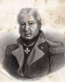 Князь Дмитрий Михайлович Волконский (1770-1835). Изображён со знаком ордена Святого Георгия 3-й степени.