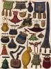 За пять веков до Paul Smith: модные в Европе XII--XVI вв. сумки и кошельки (из Les arts somptuaires... Париж. 1858 год)