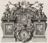Пророчество Иеремии царю Седекии (из Biblisches Engel- und Kunstwerk -- шедевра германского барокко. Гравировал неподражаемый Иоганн Ульрих Краусс в Аугсбурге в 1700 году)