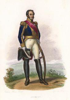 Луи Габриэль Сюше (1770-1826) - маршал Империи. Лист из серии Le Plutarque francais..., Париж, 1844-47 гг.