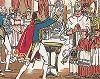 Крещение Римского короля - сына Наполеона I в 1811 году. Pictorial History of Napoleon by Andre Collot, 1930.