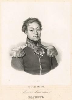 Михаил Михайлович Волков (1776-1820) - командир Екатеринославского кирасирского полка (1811), георгиевский кавалер (1812) и генерал-майор (1813). В 1812-14 гг. сражался под Смоленском, Шевардино, Бородино (ранен), Люценом, Бауценом и Лейпцигом.