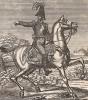 Николай I, император России. Nicolaus I Kaiser von Russland. Немецкая народная картинка второй четверти XIX-го века.