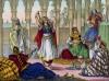 """Танец """"Мореска"""", исполняемый пленницей гарема (иллюстрация к L'Africa francese... - хронике французских колониальных захватов в Северной Африке, изданной во Флоренции в 1846 году)"""
