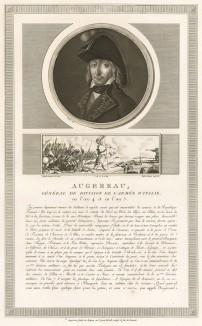 """Пьер-Франсуа-Шарль Ожеро (1757-1816) - сын лакея, дивизионный генерал (1793), герой Первой итальянской кампании Наполеона, маршал Франции (1804), герцог ди Кастильоне. Всегда стремился к личному обогащению. Умер от """"грудной водянки"""" в 1815 г. Париж, 1804"""