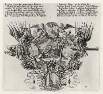 Убийство Аодом Еглона (из Biblisches Engel- und Kunstwerk -- шедевра германского барокко. Гравировал неподражаемый Иоганн Ульрих Краусс в Аугсбурге в 1700 году)